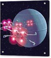 Star Wars Episode 1 Art Acrylic Print