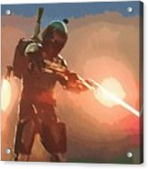Star Wars Movie Poster Acrylic Print