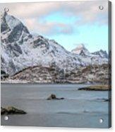 Sund, Lofoten - Norway Acrylic Print