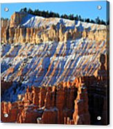 Sunset Point In Bryce Canyon Acrylic Print