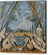 The Large Bathers Acrylic Print