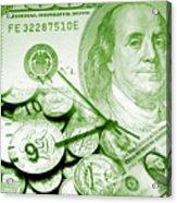 Time Is Money 16 Acrylic Print