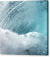 Underwater Wave Acrylic Print