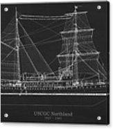 U.s. Coast Guard Cutter Northland Acrylic Print