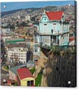 Valparaiso, Chile Acrylic Print