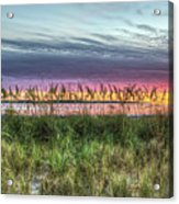 Yorktown Beach At Sunrise Acrylic Print