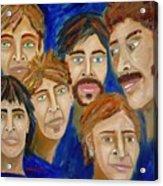 70s Band Reunion Acrylic Print