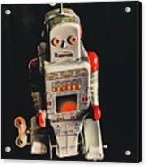 70s Mechanical Android Bot  Acrylic Print