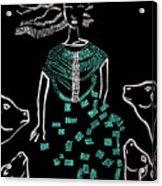 Dinka Bride South Sudan Acrylic Print
