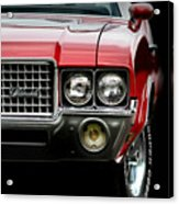 72 Olds Cutlass Acrylic Print