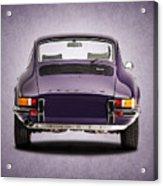 73 Porsche 911 Acrylic Print