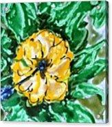 Divine Flowers Acrylic Print