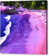 74f Bright Beach Acrylic Print