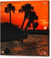 75 Island Sunset Acrylic Print