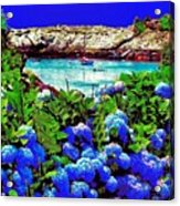 75h  Ocean Flowers Acrylic Print