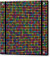 768 Digits Of Pi Up To Feynman Point, E And Phi Acrylic Print