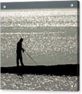 78. One Man And His Rod Acrylic Print