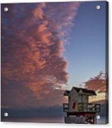 7826- Miami Beach Sunrise Acrylic Print