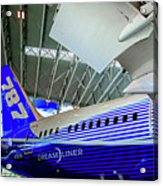787 Tail Section Acrylic Print