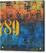 789 Street Blues Acrylic Print