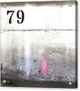 79 Acrylic Print