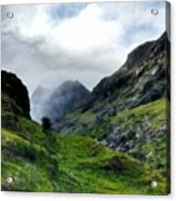 Landscape Graphics Acrylic Print