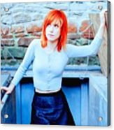 79361 Hayley Williams Paramore Women Singer Redhead Acrylic Print