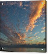 7972- Miami Beach Sunrise Acrylic Print