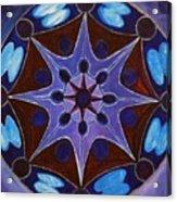 7th Mandala - Crown Chakra Acrylic Print