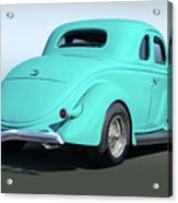 1936 Ford Coupe Acrylic Print