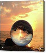 8-26-16--5927 Don't Drop The Crystal Ball, Crystal Ball Photography Acrylic Print