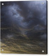 2nd Storm Chase 2015 Acrylic Print
