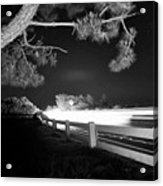 8-8-16--7126 Black And White, Cruzin The Back Road, Don't Drop The Crystal Ball Acrylic Print