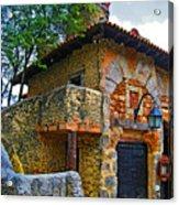 Altos De Chavon Texture. Acrylic Print