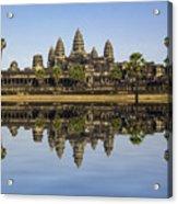 Angkor Wat Acrylic Print by MotHaiBaPhoto Prints