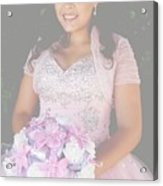 Ashley's Quinceanera Acrylic Print