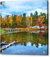 Autumn Season In Killarney Acrylic Print