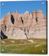 Badlands National Park South Dakota Acrylic Print