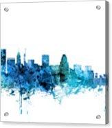 Baltimore Maryland Skyline Acrylic Print