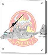 Bell Boeing Mv-22b Osprey Acrylic Print