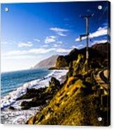 Ca Beach Acrylic Print