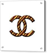 Chanel Style Png Acrylic Print