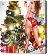 Christmas Greetings Acrylic Print
