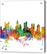 Columbus Ohio Skyline Acrylic Print