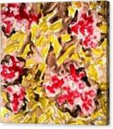 Divine Flower Acrylic Print