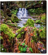 Goit Stock Waterfall Acrylic Print