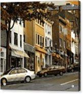 Greenwich Avenue Acrylic Print