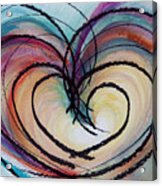 Hearts By Barb Acrylic Print