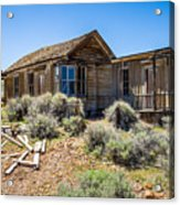 Homestead, Bodie Ghost Town Acrylic Print