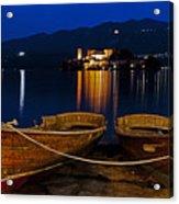 Island Of San Giulio Acrylic Print